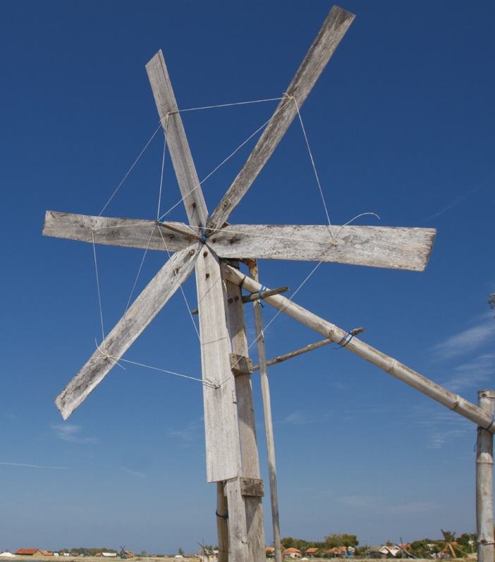 Traditional Indonesian Windmill